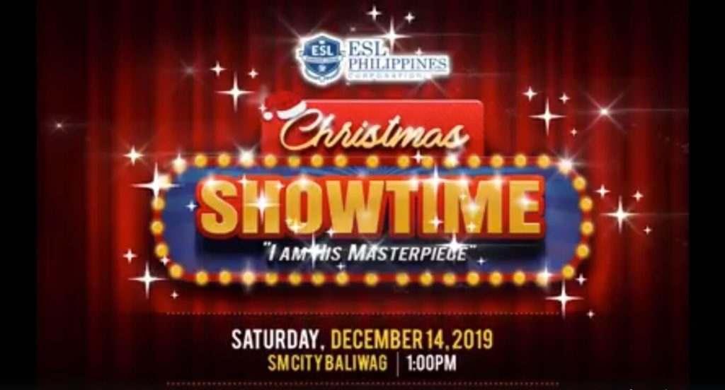 ESL Christmas Showtime 2019